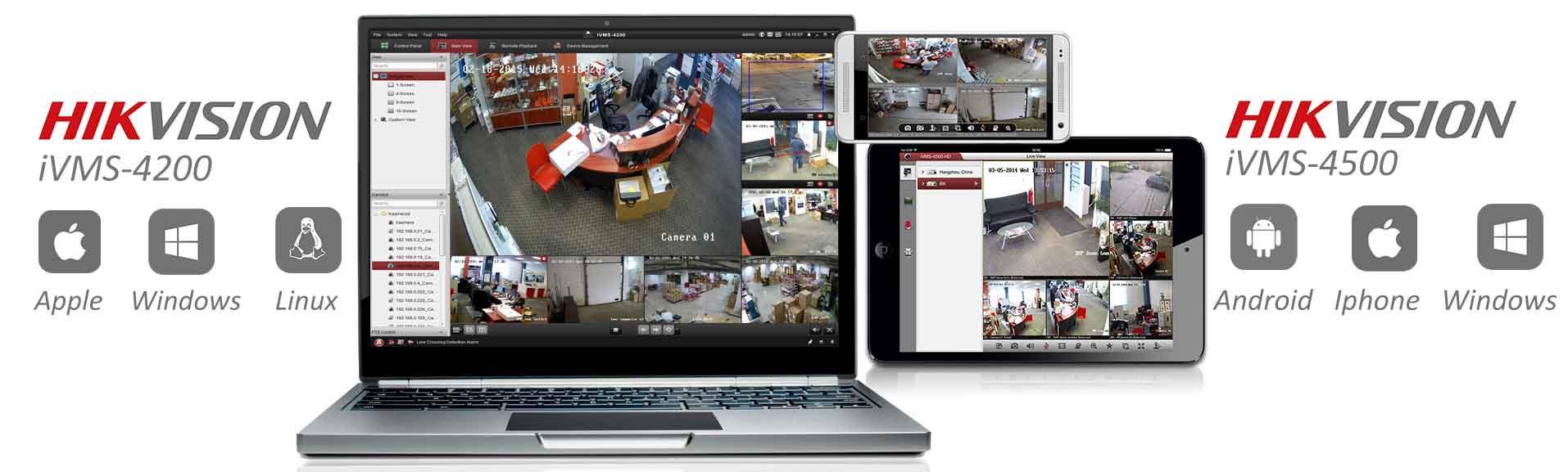 Phần mềm hỗ trợ camera hikvision