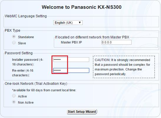 Hướng dẫn cài đặt lập trình tổng đài Panasonic KX-NS300