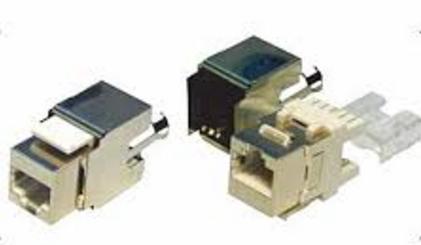 Modular Jack - ổ cắm CAT.6 chống nhiễu Fully shielded Keystone Jack, Krone type Dintek 1305-04006