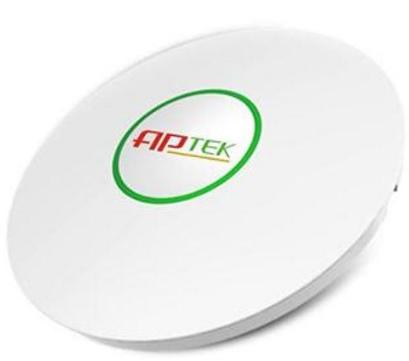 APTEK - W312 (Ốp trần) - WiFi chuẩn N - 2 Anten ngầm - Multi SSID- Vlan 802.1q - Chịu tải 40 user