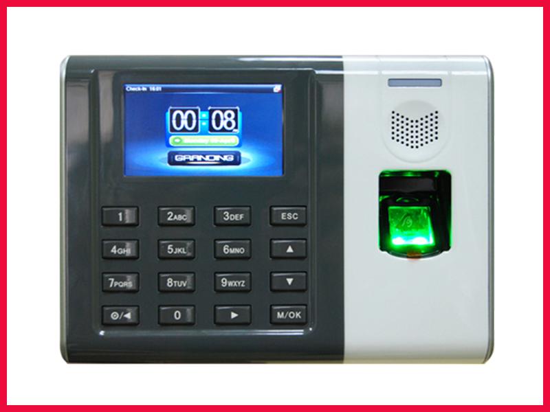 Máy chấm công Vân Tay thẻ thế hệ mới GRANDING GT100