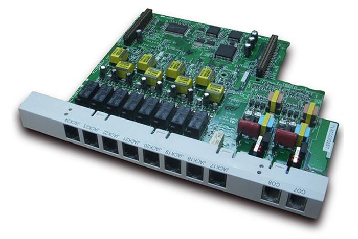 Card nâng cấp 02 trung kế - 08 máy nhánh KX-TE82480