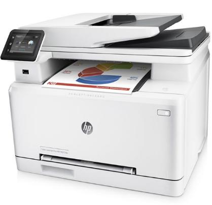 MÁY IN HP M277DW ( in màu, scan, copy, fax, in đảo mặt)