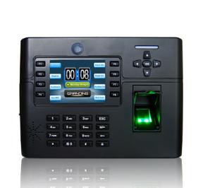 Máy chấm công vân tay + thẻ cảm ứng, kiểm soát cửa ra vào TFT 900 Dung lượng lớn