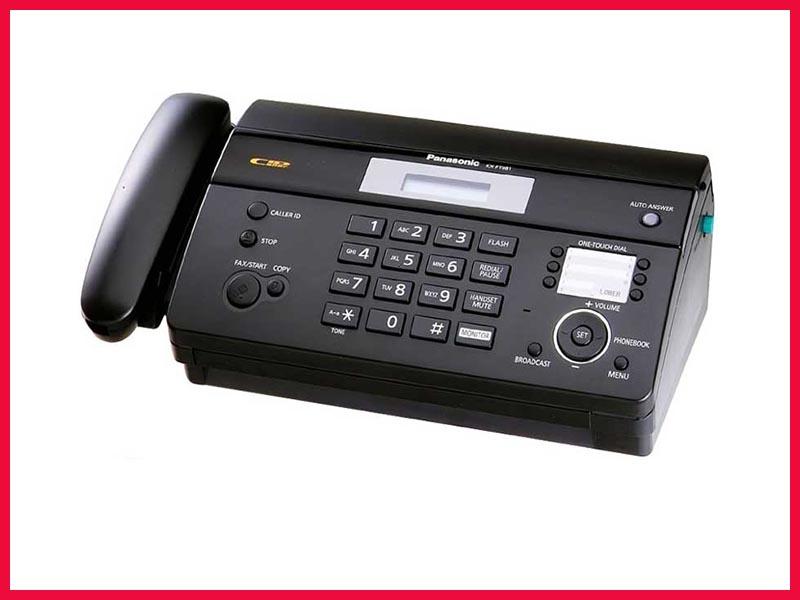 Máy Fax Panasonic KX-FT 983: (Mã Lai)