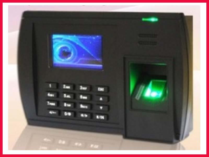 Máy chấm công vân tay thẻ cảm ứng RONALD JACK 6868